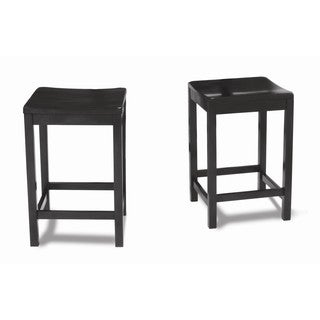 Dorel Asia Parsons Counter Height Stool, 2 pack
