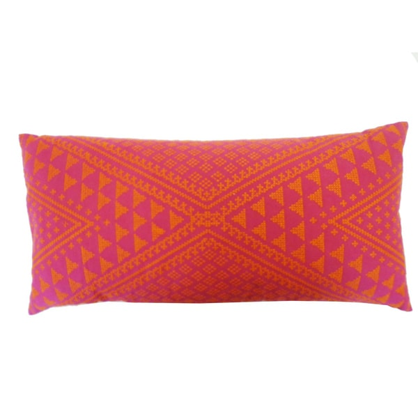 Tangiers Pink Throw Pillow
