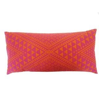 Tangiers Pink Throw Pillow