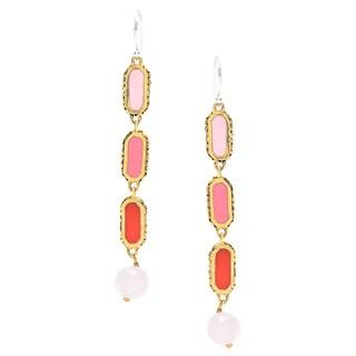 Coco Tricolor Drop Earrings