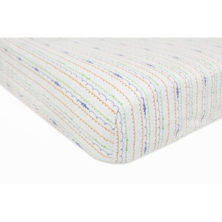 Babyletto Fitted Crib Sheet in Alphabet