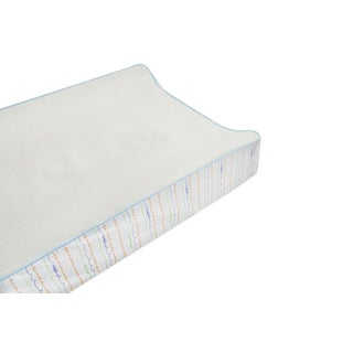 Babyletto Contour Changing Pad Cover in Alphabet
