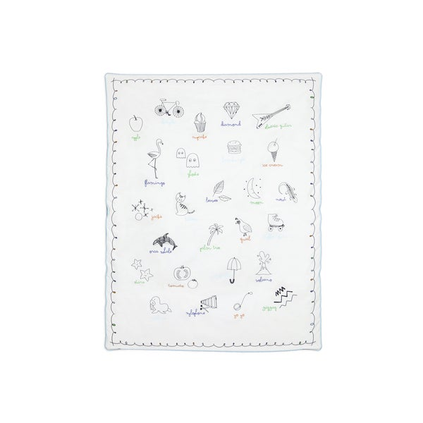 Babyletto Play Blanket in Alphabet