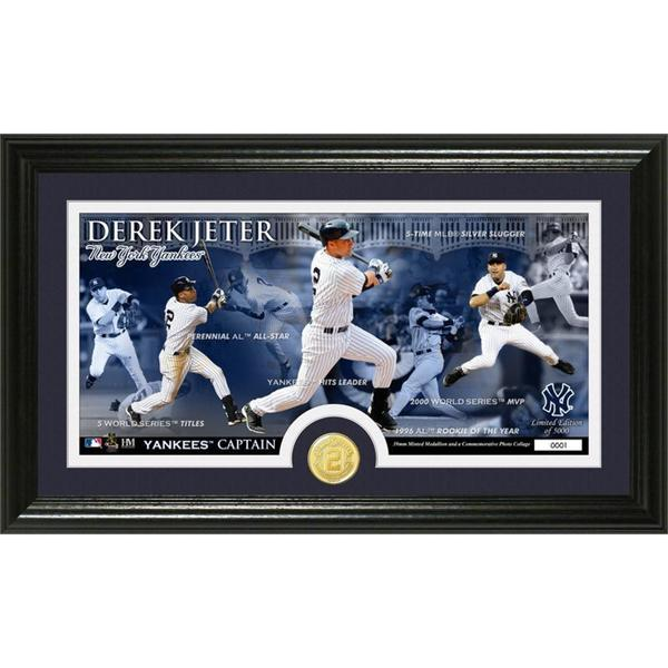 Derek Jeter Final Season Panorama Minted Coin Photo Mint