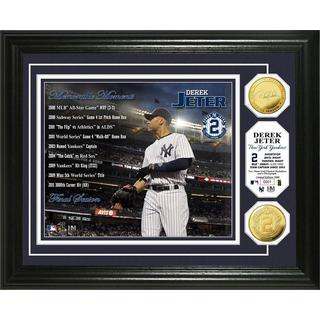 Derek Jeter Memorable Moments Gold Coin Photo Mint