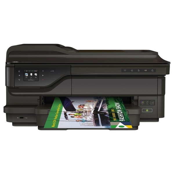 HP Officejet 7612 Inkjet Multifunction Printer - Color - Plain Paper