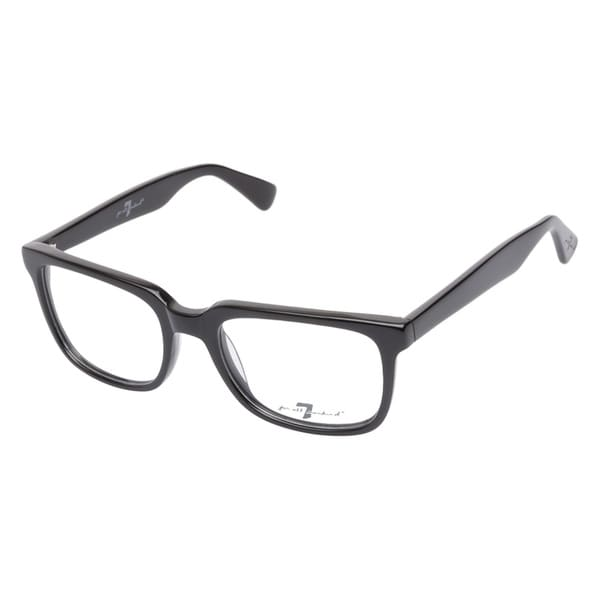 7 For All Mankind 761 Black Prescription Eyeglasses