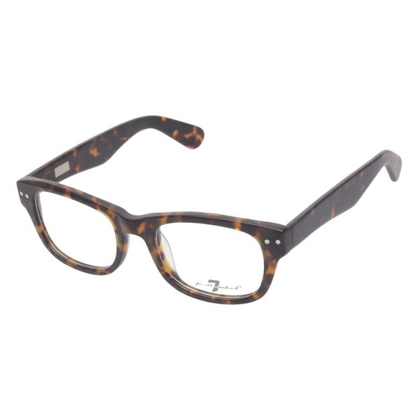 7 For All Mankind 778 Matte Tortoise Prescription Eyeglasses