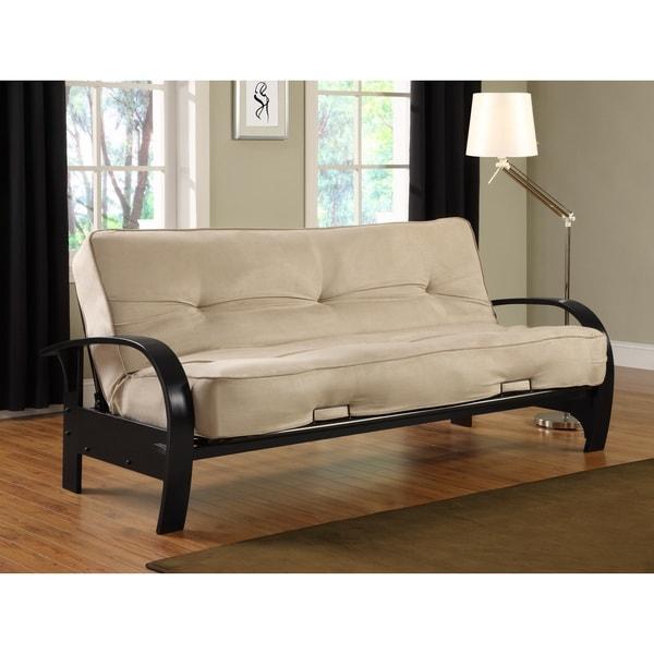 Dhp madrid futon full size sofa sleeper overstock for Sofas a medida madrid