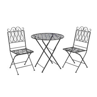 Comfortable Metal Bistro (Set of 3)