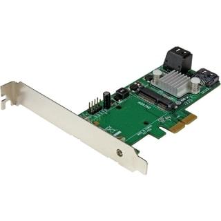 StarTech.com 3 Port PCI Express 2.0 SATA III 6 Gbps RAID Controller C