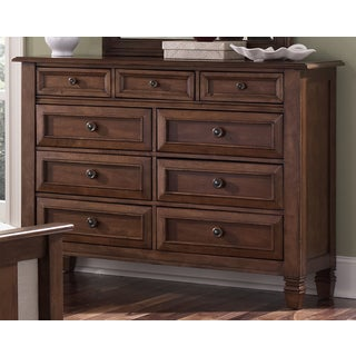 Liberty Bronze Cherry 9-drawer Dresser