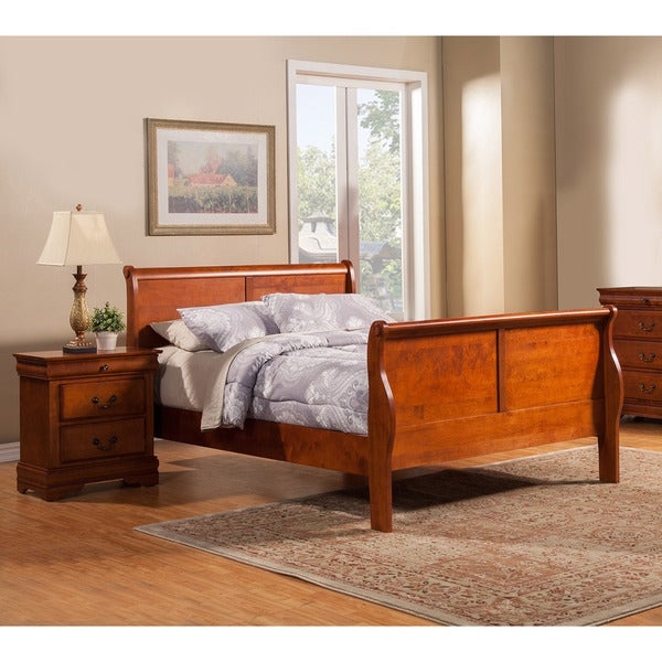 American Lifestyle Toulouse Sleigh Bed