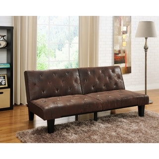 Dhp venti futon sofa bed overstock shopping great for Sofa bed overstock