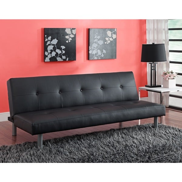 DHP Nola Futon Sofa Bed