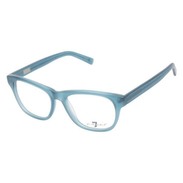 7 For All Mankind 774 Matte Aqua Prescription Eyeglasses