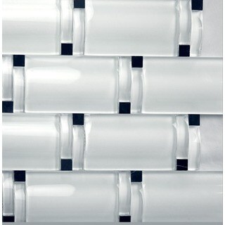 Martini Mosaic Bellagio White Blocco Wave (Set of 5 Sheets)