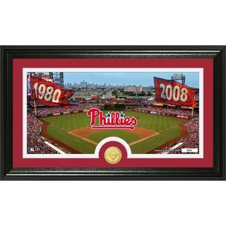 MLB Philadelphia Phillies Traditions Bronze Coin Panoramic Photo Mint