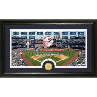 MLB New York Yankees Traditions Bronze Coin Panoramic Photo Mint