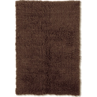 Oh! Home Flokati Super Heavy Cocoa Area Rug (9' x 12')