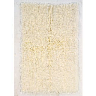 Flokati Super Heavy Tan Area Rug (9' x 12')