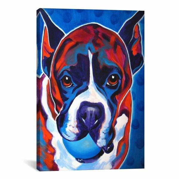 iCanvasART DawgArt Atticus Canvas Print Wall Art