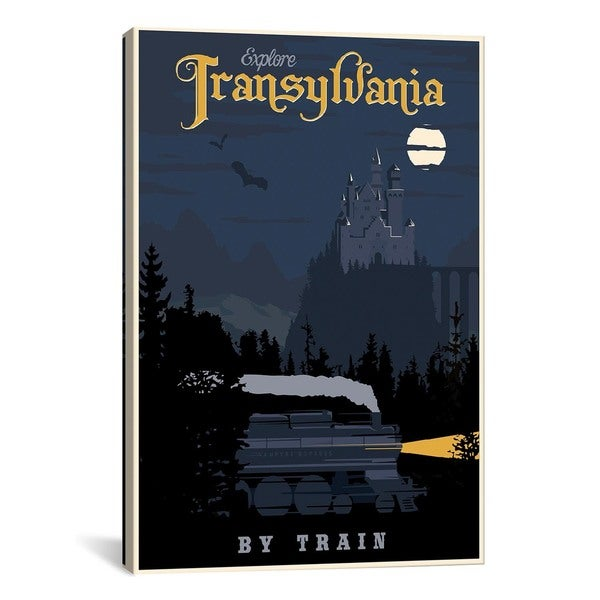 iCanvasART Transylvania Travel Canvas Print Wall Art