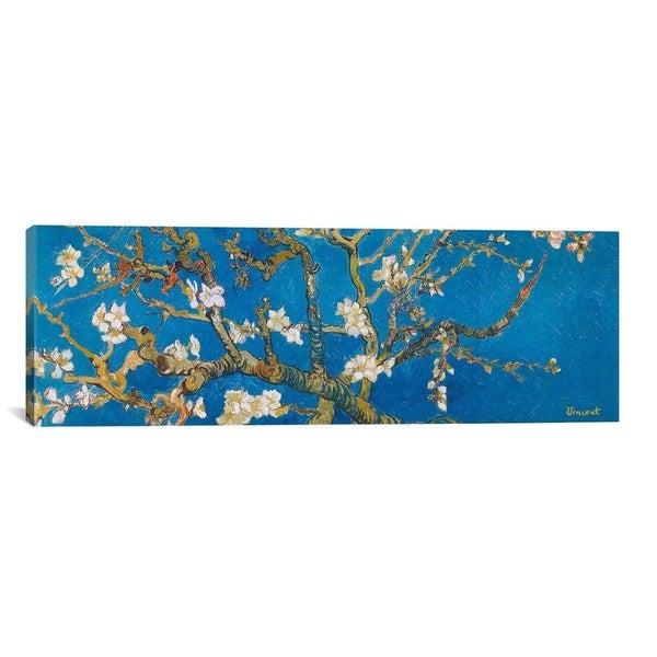 iCanvasART Vincent van Gogh Almond Blossom Canvas Print Wall Art