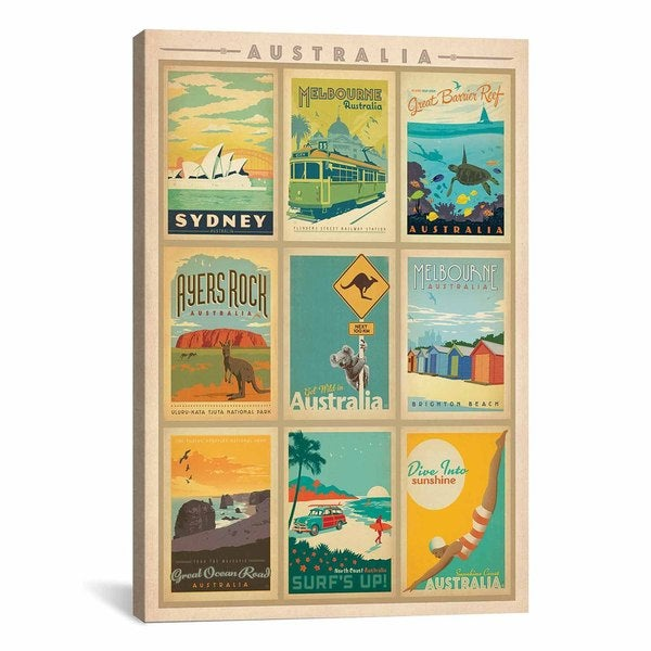 iCanvasART Anderson Design Group Australia Collection Canvas Print Wall Art