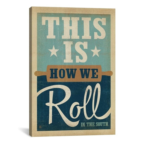 iCanvasART Anderson Design Group South Carolina Series: How We Roll Canvas Print Wall Art