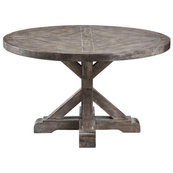 Bridgeport Round Cocktail Table 16304653 Overstock Com