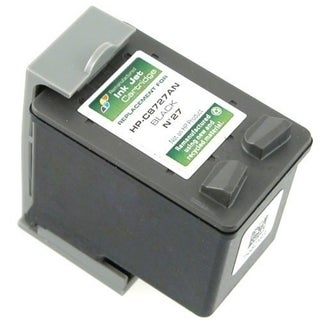 INSTEN Remanufactured C8727 No. 27 Ink Cartridge for HP Fax Series OfficeJet