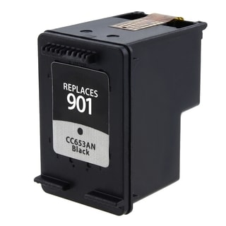 INSTEN Remanufactured Inkjet CC653AN No.901 Black Ink Cartridge for HP OfficeJet