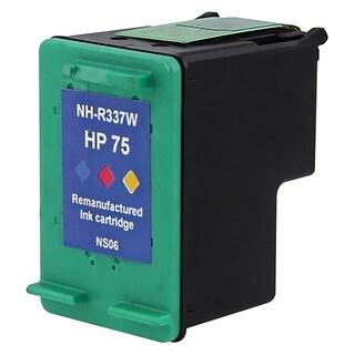 BasAcc Remanufactured Inkjet CB337WN No.75 Ink Cartridge for HP OfficeJet J6410