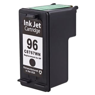 BasAcc Black Remanufactured C8767W No.96 Ink Cartridge for HP Deskjet/ OfficeJet