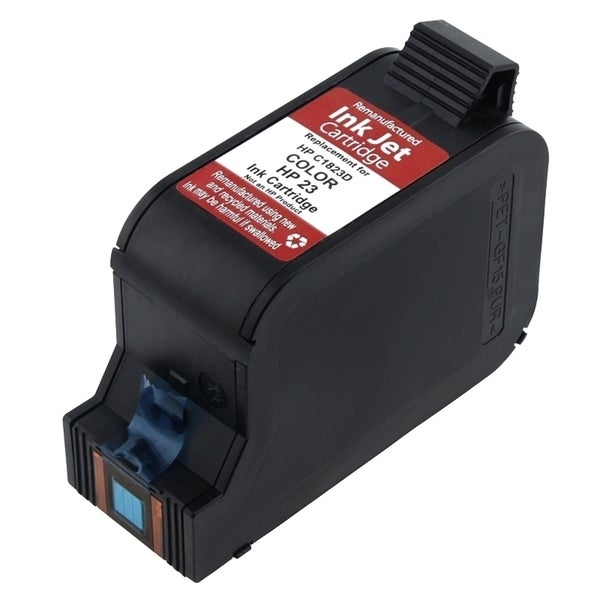 INSTEN Remanufactured C1823 No.23 Color Ink Cartridge for HP OfficeJet/ PSC