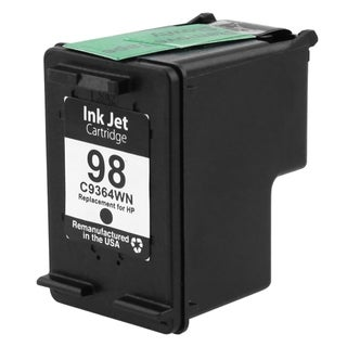BasAcc Black Remanufactured C9364W No.98 Ink Cartridge for HP Deskjet OfficeJet