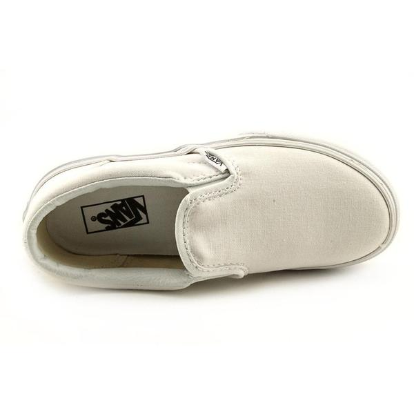Vans Boy (Youth) 'Classic Slip-On' Basic Textile Athletic Shoe