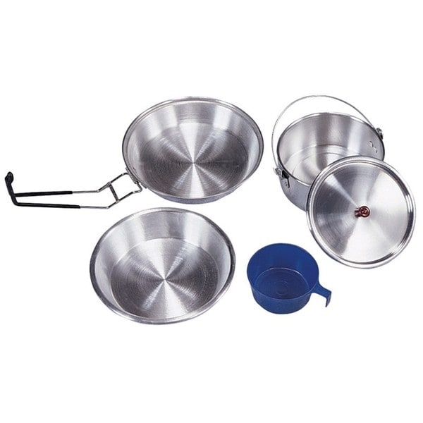 Stansport Deluxe 5-piece Aluminum Cook Set