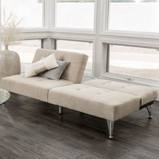 Christopher Knight Home Alston Click-Clack Oversized Convertible 2-piece Sofa Couch