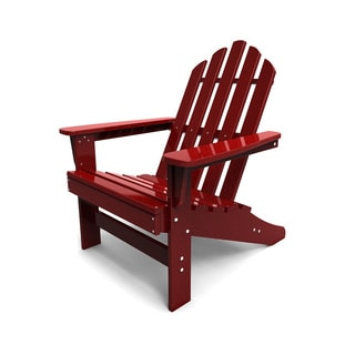 Malibu Outdoor Living Red Adirondack Chair