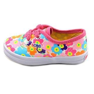 Lil' Bobs by Skechers Girl (Toddler) 'Boardwalk Sungarden' Basic Textile Athletic Shoe