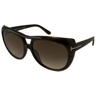 Tom Ford Women's TF0294 Claudette Cat-Eye Sunglasses
