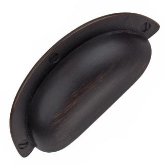 GlideRite 2.5 inch Oil Rubbed Bronze Cabinet Bin Pulls (Pack of 10)