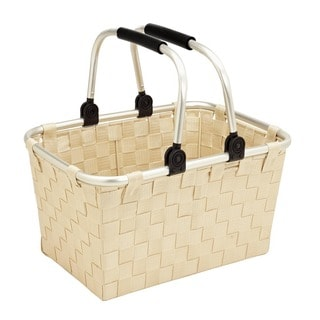 Large Tote with Aluminum Handles