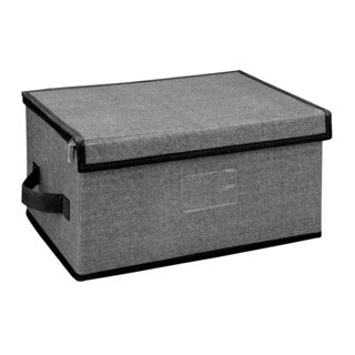 Medium Zippered Storage Box