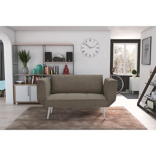 Euro Futon Sofa Bed with Magazine Storage