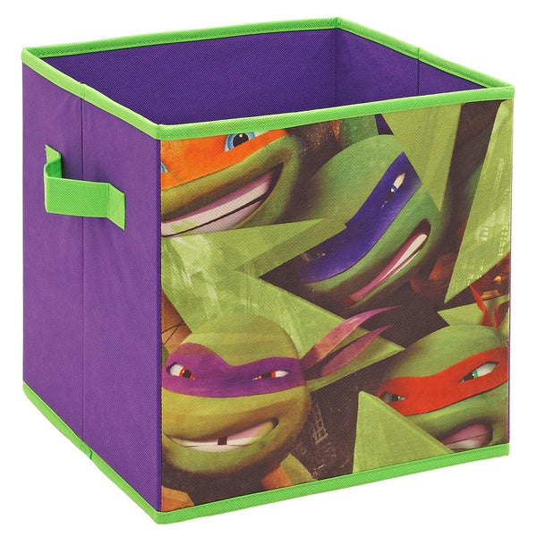 Teenage Mutant Ninja Turtles Faces Storage Cube