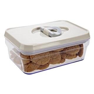 Cube Lidlock Storage Jar