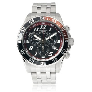 Invicta Men's 14512 Stainless Steel 'Pro Diver' Chronograph Watch